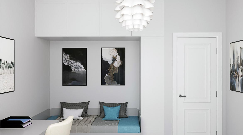 Дизайн интерьера в скандинавском стиле ЖК Французский