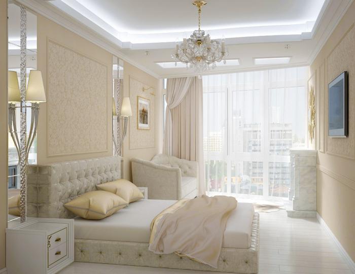 Пример дизайн интерьера ЖК Четыре Сезона стиль Неоклассика Одесса