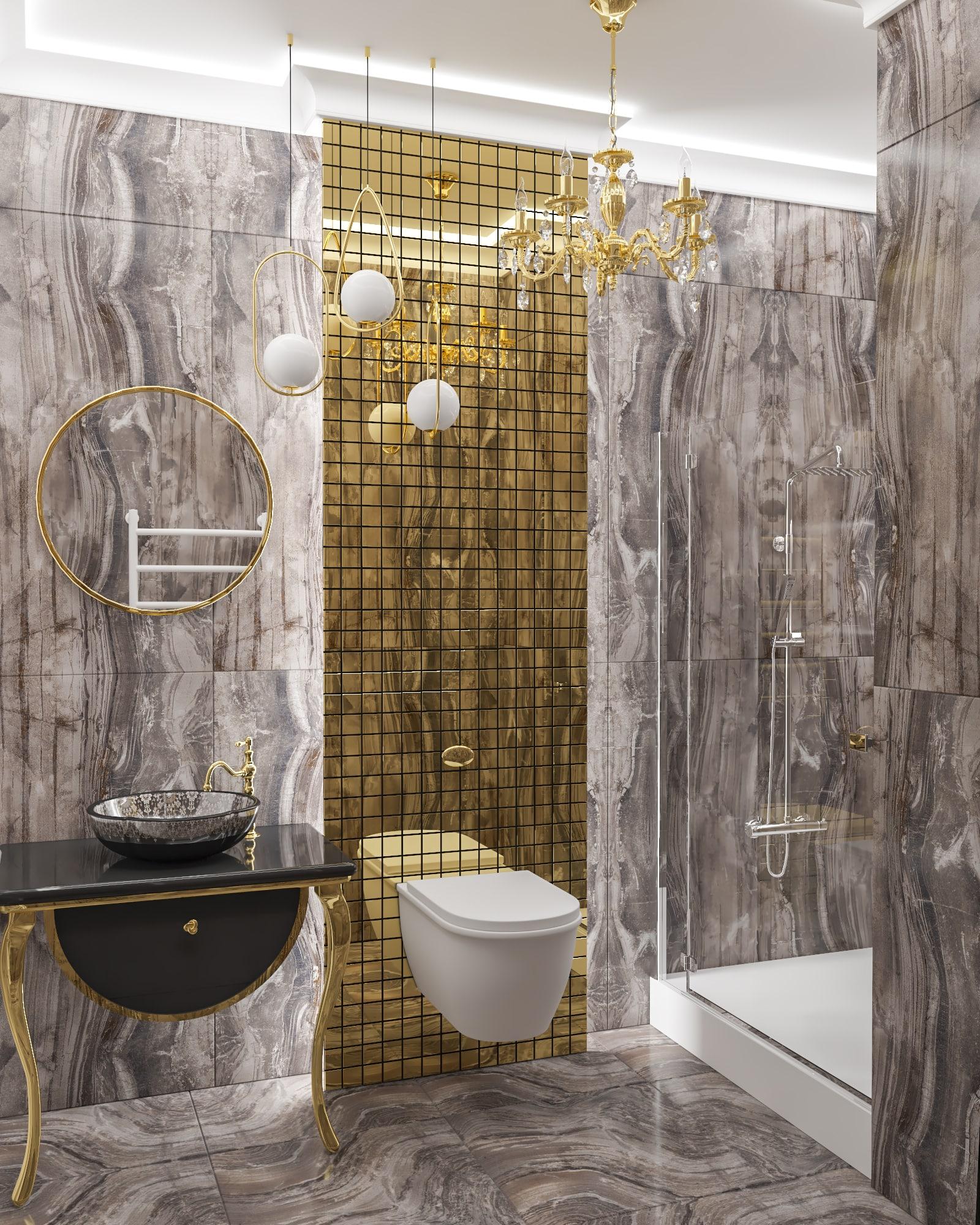 Дизайн интерьера трехкомнатной квартиры в Одессе, ЖК Дмитриевский