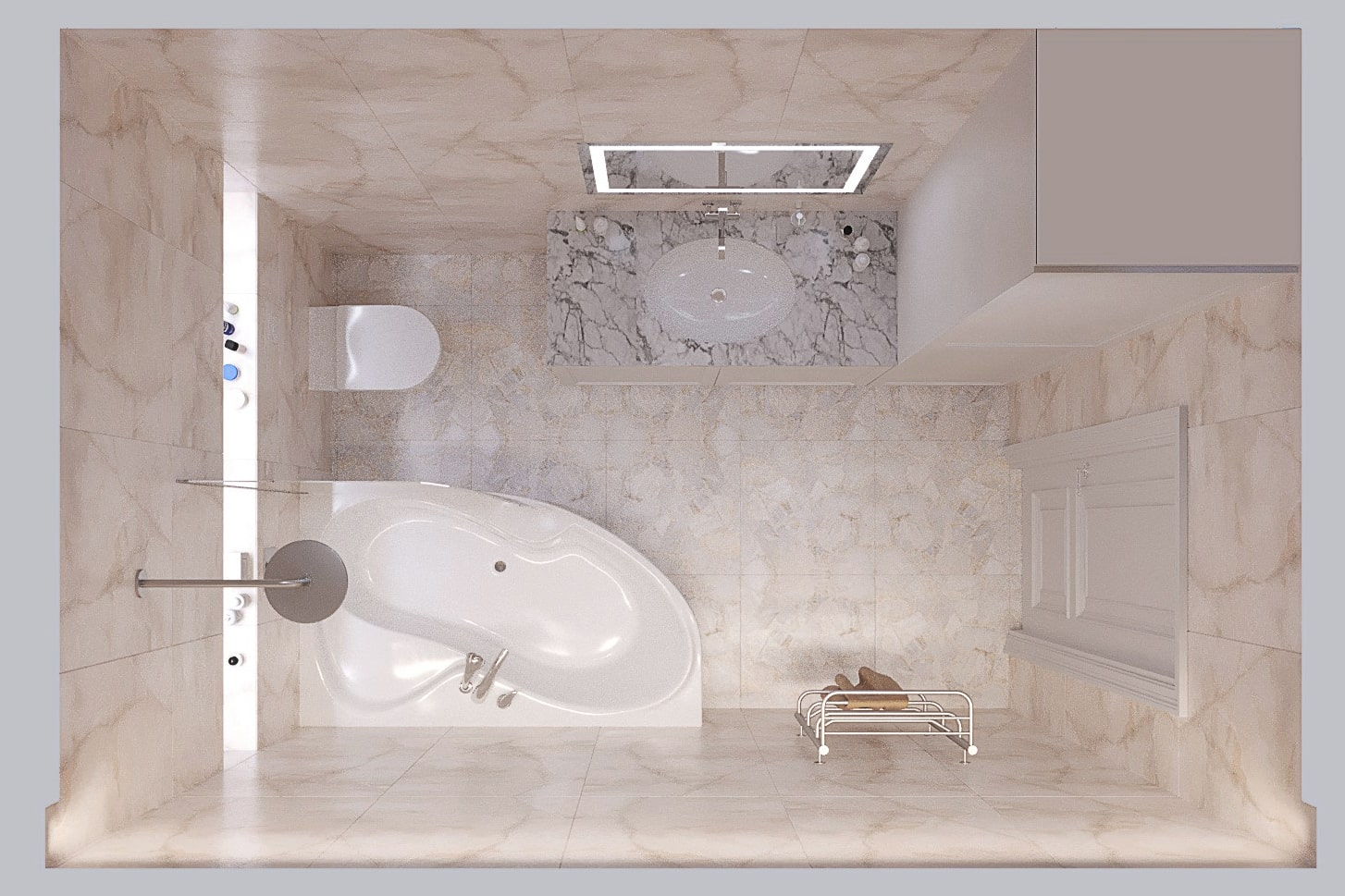 Дизайн-проект интерьера в Одессе