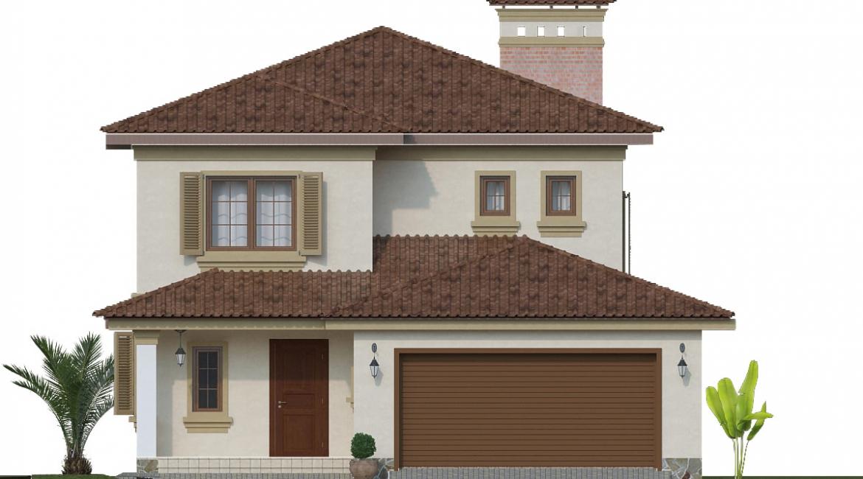 Готовый проект дома Одесса