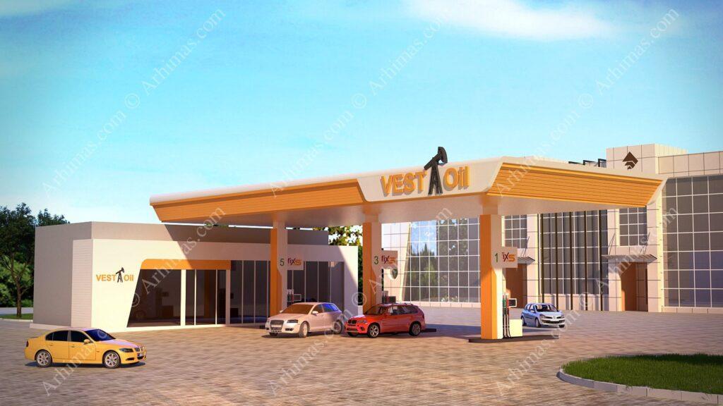 Проект автозаправочной станции в Одессе