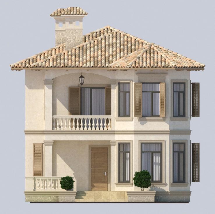 Проект дома Одесса