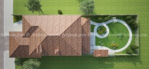 Проект дома стиль Прованс Одесса
